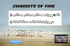 chariots of fire - diapo