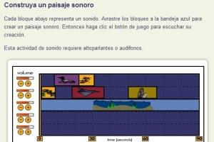 construya paisaje sonoro