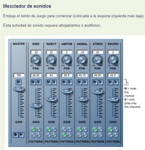 mesclador de sons