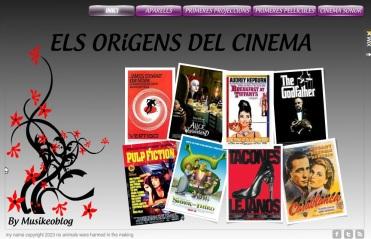 els origens del cinema