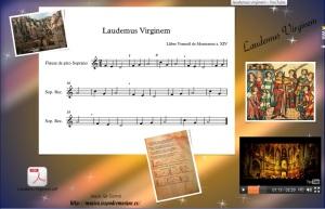 laudemus virginem wix