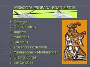 monodia profana